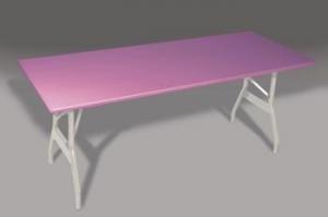 China Aluminum Folding Tables Alu-lite MardiGras 18 Wide Tables (M185WL, M186WL, M188WL) on sale