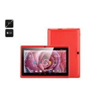 China Colored G-sersor 360 7 Inch Touchpad Tablet , 1.2GHz PC Allwinner A33 Tablets on sale