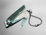 China Miscellaneous Key Tags Nail Clipper With Bead Chain on sale