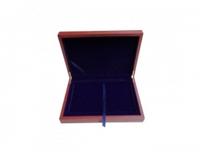 China Good quality wooden commemorative coin box,rosesolid wood souvenir coin box Coin/Souvenir Packaging on sale