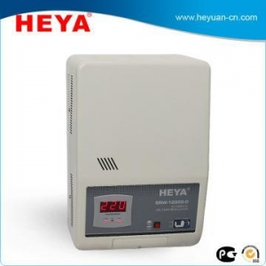 China Single Phase Voltage Regulator Relay Type Wall Mounted AC Automatic Voltage Regulator on sale