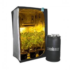 China Grow Light Components 1000w DWC or Ebb & Flow Hydroponic Grow Tent Kit on sale