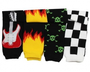 China Baby Leg Warmers Gift Set: Rock N Roll on sale