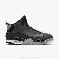 China Men's Shoes 311046-004 Air Jordan Dub Zero Black/Classic Charcoal/Wolf Grey/White on sale