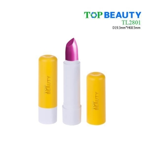 China Cylinder plastic clear transparent lipstick bottle(TL2801) on sale