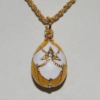 China Faberge egg pendants YF22-1221A on sale