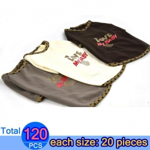 China LOVE MY BABY Dog T-shirt - Bulk Order Total 120 Pieces Item Code: FD177-B on sale
