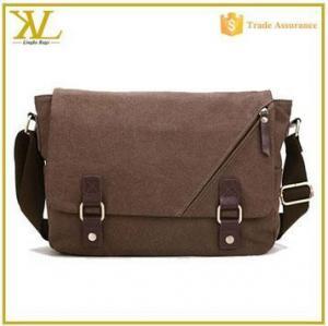 China -Laptop Shoulder Bag Factory wholesale sling shoulder bag, men canvas laptop messenger bag on sale