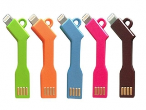 China BN262-Colorful Sync USB Charger Cable Key Line for iPhone 5 5c 5s on sale