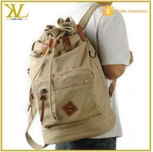China Backpack Customized College Canvas Backpacks For Men, Canvas Backpacks For Teenage Girl on sale