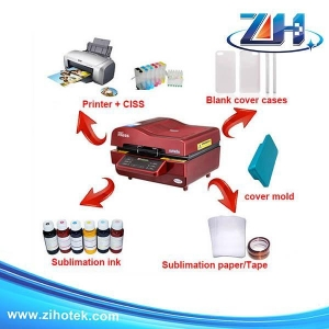 China Full sets for sale 3D sublimation vacuum machine (full set for sale) on sale