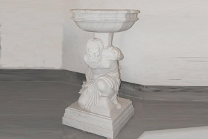 China Marble sculpture ceramic flowerpot with high quality on sale