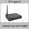 China 1080p android tv box dvb t2 set top box XBMC Aml8726-MX for sale