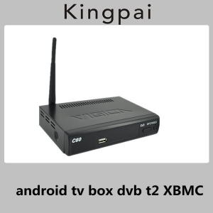 China 1080p android tv box dvb t2 set top box XBMC Aml8726-MX supplier