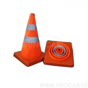 China High Quality Flexible Collapsible Pvc Traffic Cone on sale