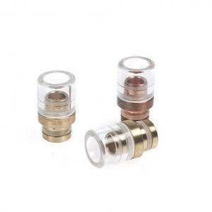 China Short Copper Glass Wide Bore 510 Drip Tips on sale