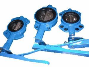 China Semi-lug wafer butterfly valve on sale