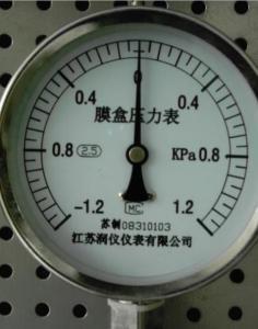 China Products YE serise capsule pressure gauge on sale