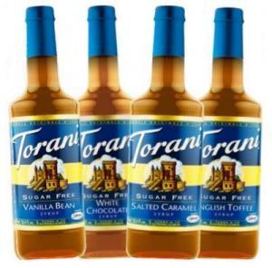 China Torani Sugar Free Flavored Syrups - 750 ml Glass Bottle on sale