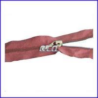 China M1# long chain Metal Zipper Small Brass Teeth Zipper on sale