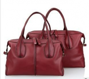 China Wine leather messenger bags for women sale on sale