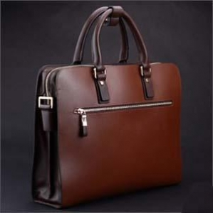 China Brown leather briefcase for men onsale on sale