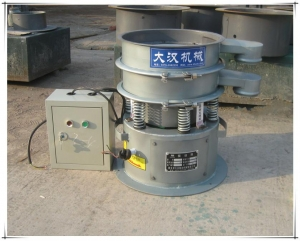 China Circular vibrating sieve 220V single-phase vibrating sieve with diameter 400mm on sale