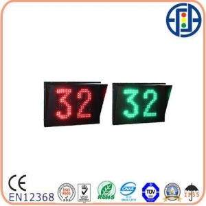 China LED Countdown Meter Series 800*600mm Bi-color Two-digit Dot-matrix Countdowm Timer with Nine Outputs on sale
