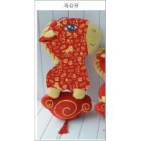 China Immediately rich horse mascot celebrate the New Year god horse Zodiac horse doll on sale