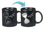 China OEM SAND CLOCK THERMO COLOR CHANGING GIFT MUG on sale