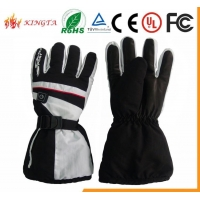 China Heated Gloves Winter Windproof Warm Waterproof Battery Heated Gloves,ski gloves on sale