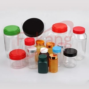 China PET Plastic Medicine Bottles PET wholesale food packaging containers, plastic bottles for on sale