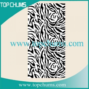 China zebra beach towel bt0341 zebra on sale