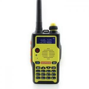 China Portable radio BAOFENG walkie talkies E500S UHF+VHF dual band radio transceiver on sale