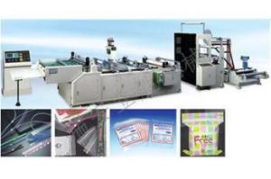 China RZP type series chain hot glue bag making machine on sale