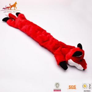 China Plush Dog Toys No Stuffing Dog Toys Fox on sale