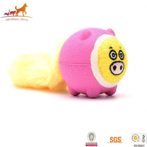 China Pig Face Puppy Chew Toy on sale