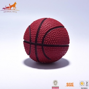 China Squeaky Rubber Basketball on sale