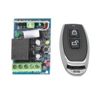 DC12V 1CH RF Learning code remote control switch with CE