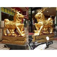 Stone-bronze tripod carpenter Stone unicorn JX-007