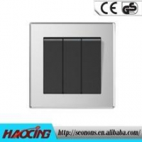 China 2015 High Quality New Type 3 Gang Wall Light Switch on sale