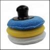 China Car Care Microfiber Wax Applicator Pad Kit for sale