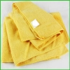 China Wholesale Black Friday Microfiber Yellow Towel For Christmas for sale