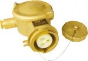 China Marine connector series Marine 16A brass socket on sale