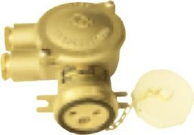China Marine connector series HNA Series 10A brass socket on sale