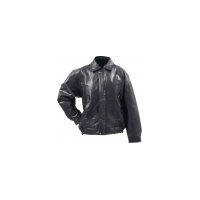 China Giovanni Navarre Italian Stone Design Genuine Buffalo Leather Bomber Jacket - XLarge on sale