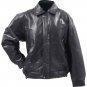China Giovanni Navarre Italian Stone Design Genuine Buffalo Leather Bomber Jacket - Large on sale