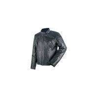 China Giovanni Navarre Ladies Pebble Grain Genuine Leather Coat- Size XLarge on sale