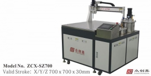 China Glue dispenser 4-Axis Dispensing Robots on sale