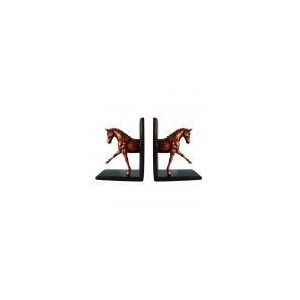 Glossy Horse Bookends